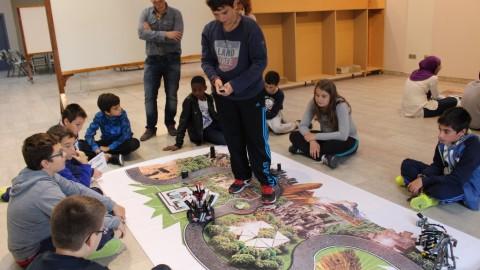 Semana de la Ciencia en Binéfar con Robótica Educativa