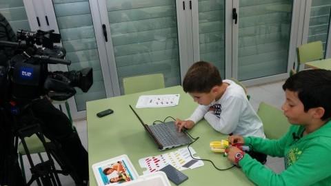 RTVE con la Robótica Educativa en Tierz